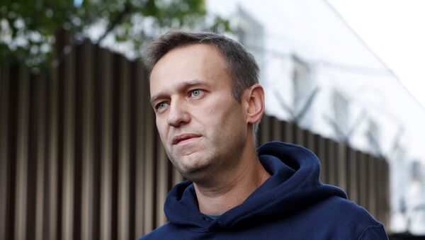 Российский блогер Алексей Навальный - Sputnik Беларусь