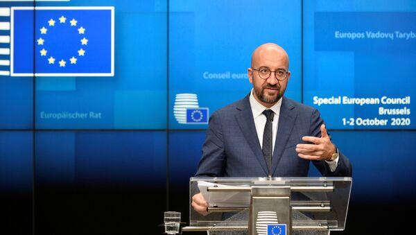 Глава Евросовета Шарль Мишель - Sputnik Беларусь
