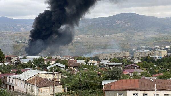 Обострение ситуации вокруг Нагорного Карабаха - Sputnik Беларусь