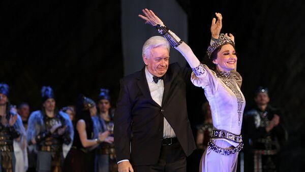 Главный балетмейстер Большого Юрий Троян во время премьеры балета Анастасия - Sputnik Беларусь