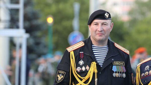 Командир минского ОМОНа Дмитрий Балаба  - Sputnik Беларусь
