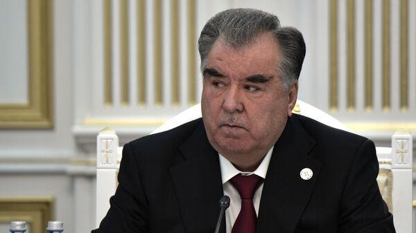 Прэзідэнт Рэспублікі Таджыкістан Эмамалі Рахмон - Sputnik Беларусь