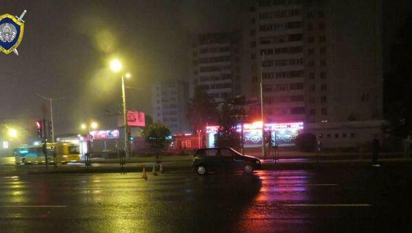 Виновник наезда на пешеходов на проспекте Пушкина в Минске - Sputnik Беларусь
