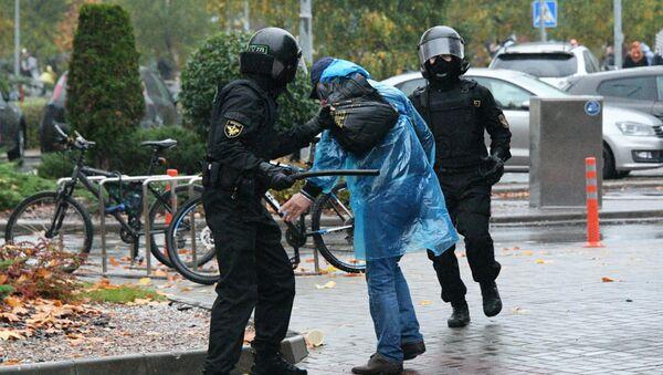 Акции протеста в Минске 11 октября - Sputnik Беларусь
