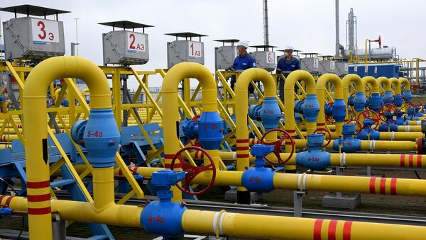 Мозырское подземное хранилище газа ОАО Газпром трансгаз Беларусь - Sputnik Беларусь