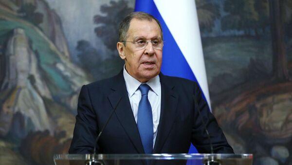 Министр иностранных дел РФ Сергей Лавров  - Sputnik Беларусь