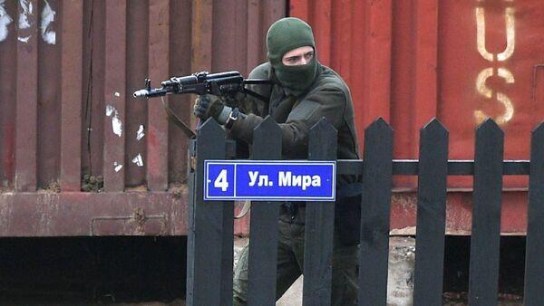 Учения ОДКБ Нерушимое братство-2020 на полигоне Лосвидо в Витебской области - Sputnik Беларусь