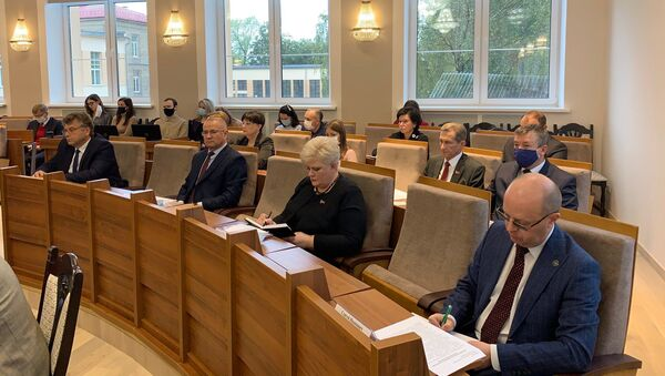 В Гродно обсуждают поправки в Конституцию - Sputnik Беларусь