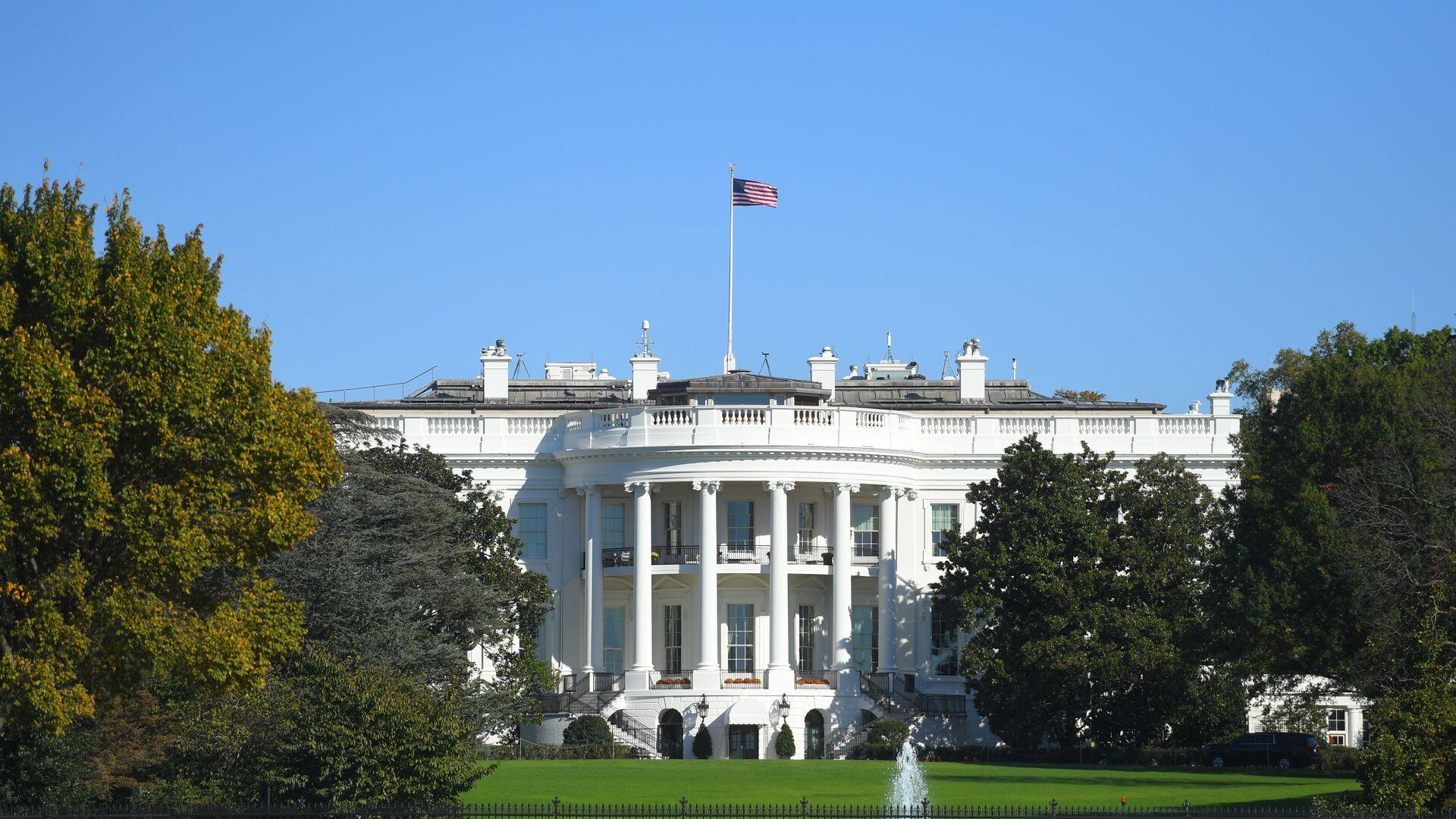 Белый дом в Вашингтоне - Sputnik Беларусь, 1920, 19.04.2021