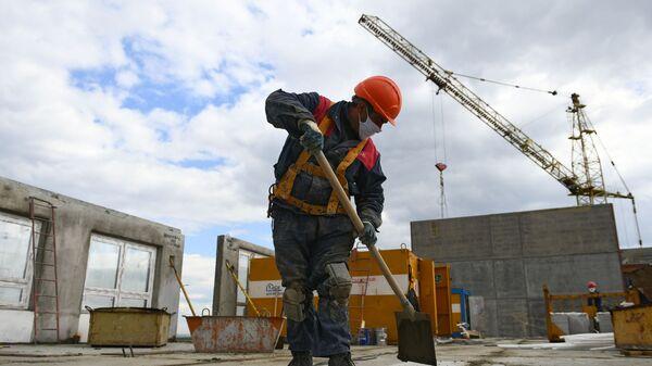 Строительство жилого комплекса - Sputnik Беларусь