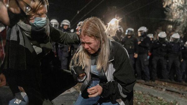 Протесты в Польше - Sputnik Беларусь