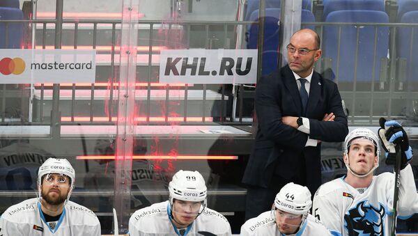 Главный тренер хоккейного Динамо-Минск Крэйг Вудкрофт - Sputnik Беларусь