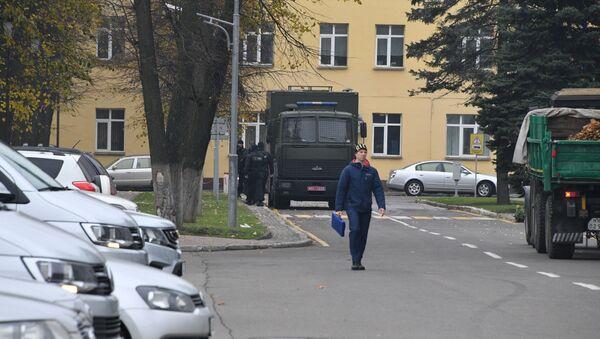 Автозак, архивное фото - Sputnik Беларусь