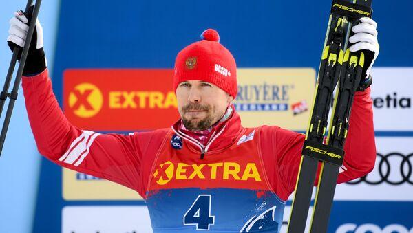 Российский лыжник Сергей Устюгов - Sputnik Беларусь