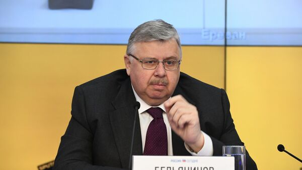 Андрэй Бельянінаў - Sputnik Беларусь