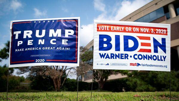 Плакаты на выборах в США - Sputnik Беларусь