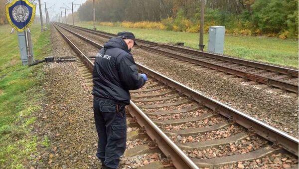 Неизвестный повредил поезд и сигнализацию в Брестской области - Sputnik Беларусь