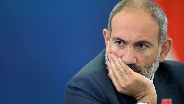 Премьер-министр Армении Никол Пашинян - Sputnik Беларусь