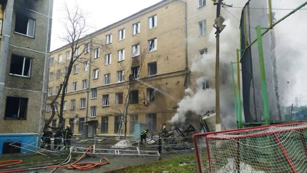 Взрыв в больнице в Челябинске - Sputnik Беларусь