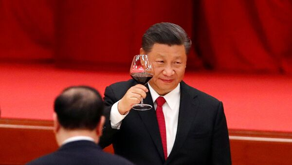 Председатель Компартии Китая Си Цзиньпин - Sputnik Беларусь