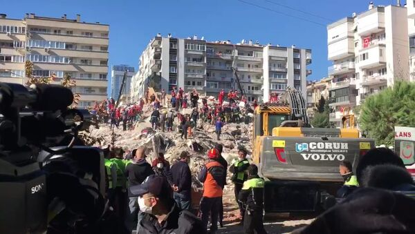 Последствия землетрясения в Турции - Sputnik Беларусь