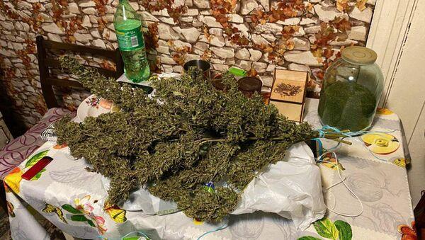 Изъятые у задержанных наркотики - Sputnik Беларусь