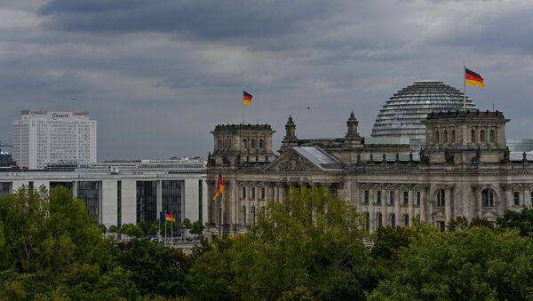 Здание бундестага, архивное фото - Sputnik Беларусь