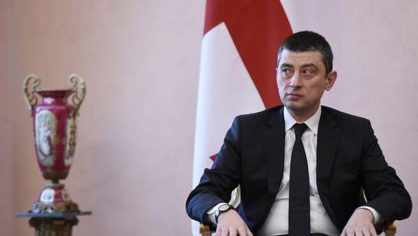 Премьер-министр Грузии Георгий Гахария - Sputnik Беларусь