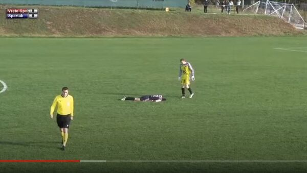 Футбольный матч в Сербии продлился 5 секунд, видео - Sputnik Беларусь