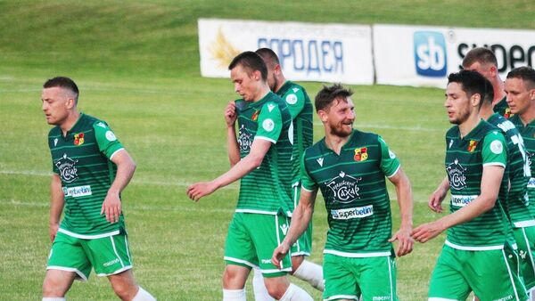 Футболисты Городеи - Sputnik Беларусь
