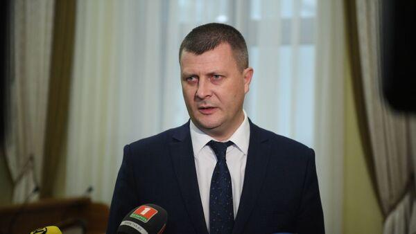 Міністр фінансаў Беларусі Юрый Селіверстаў - Sputnik Беларусь