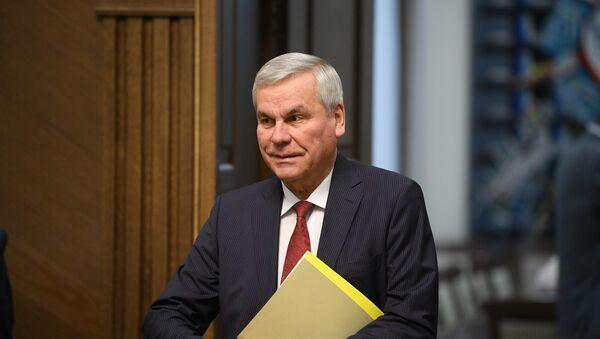 Председатель Палаты представителей Владимир Андрейченко - Sputnik Беларусь