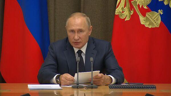 Путин рассказал, когда Россия сможет применять ядерное оружие - видео - Sputnik Беларусь