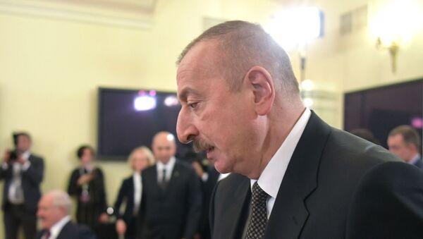 Президент Азербайджана Ильхам Алиев  - Sputnik Беларусь
