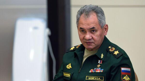 Министр обороны РФ Сергей Шойгу  - Sputnik Беларусь