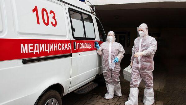 5 лет вместе на скорой и дома: как живет семья медиков - Sputnik Беларусь