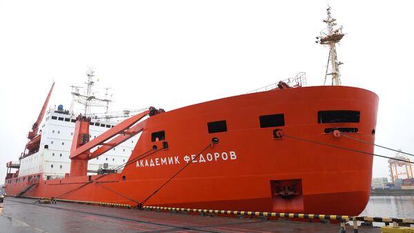 Акадэмік Фёдараў вярнуўся з трохмесячнай экспедыцыі ў Арктыцы - відэа - Sputnik Беларусь