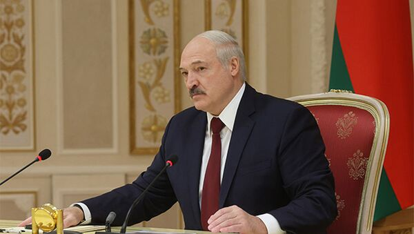 Беларускі прэзідэнт Аляксандр Лукашэнка - Sputnik Беларусь