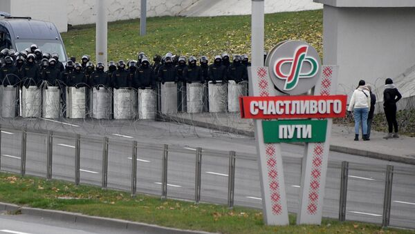 Кардон сілавікоў у Мінску - Sputnik Беларусь
