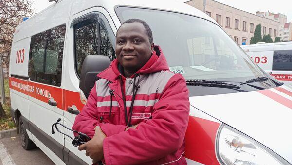 Принц Осей, врач бригады скорой медицинской помощи - Sputnik Беларусь