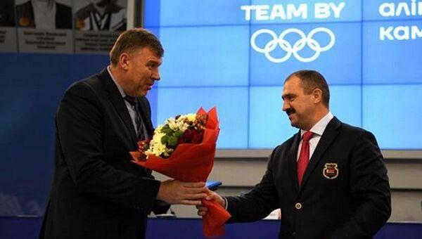 Андрей Барбашинский награжден почетным знаком НОК Беларуси За заслуги в развитии олимпийского движения в Республике Беларусь - Sputnik Беларусь