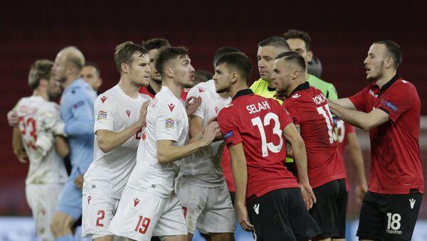 Матч Лиги наций Албания - Беларусь - Sputnik Беларусь