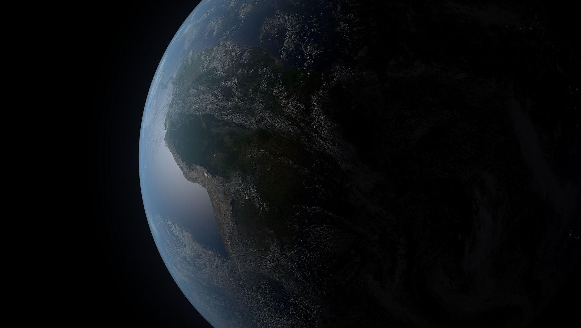 Планета Зямля, архіўны фотаздымак - Sputnik Беларусь, 1920, 14.02.2021