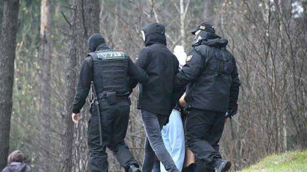 Задержание в Минске 22 ноября - Sputnik Беларусь