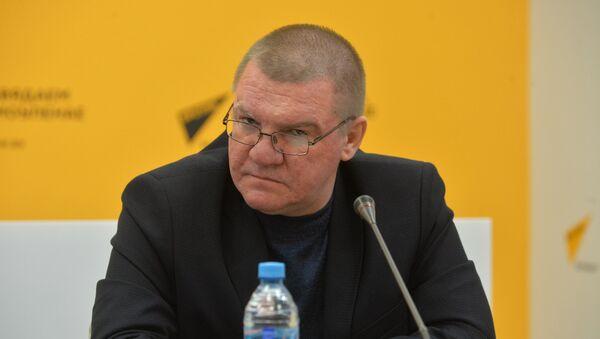 Военный эксперт, профессор Академии военных наук РФ Александр Тиханский  - Sputnik Беларусь