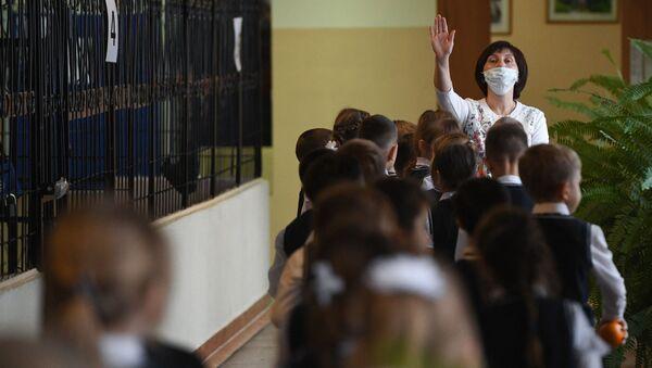 Ученики начальных классов - Sputnik Беларусь