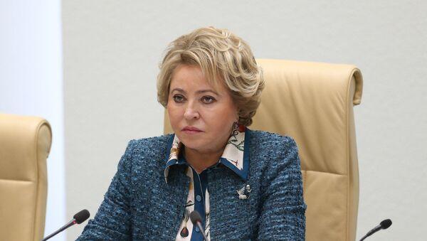 Заседание Совета Федерации РФ  - Sputnik Беларусь