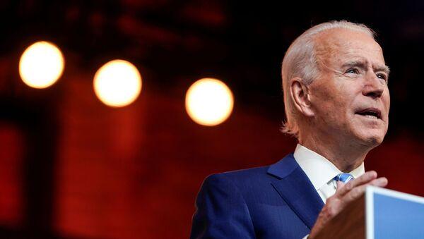 Джо Байден, победивший на президентских выборах в США - Sputnik Беларусь