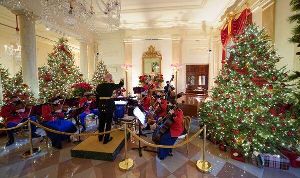 Оркестр во время выступления в Белом доме - Sputnik Беларусь