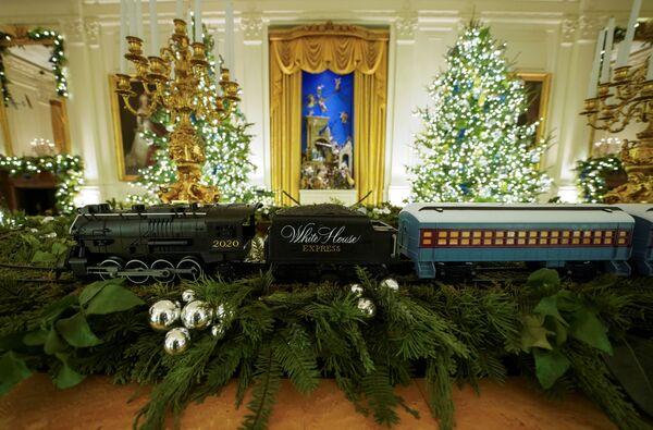 Рождественское украшение Белого дома - Sputnik Беларусь